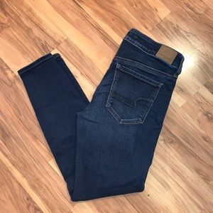 American Eagle denim leggings
